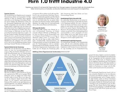 Hirn 1.0 trifft Industrie 4.0