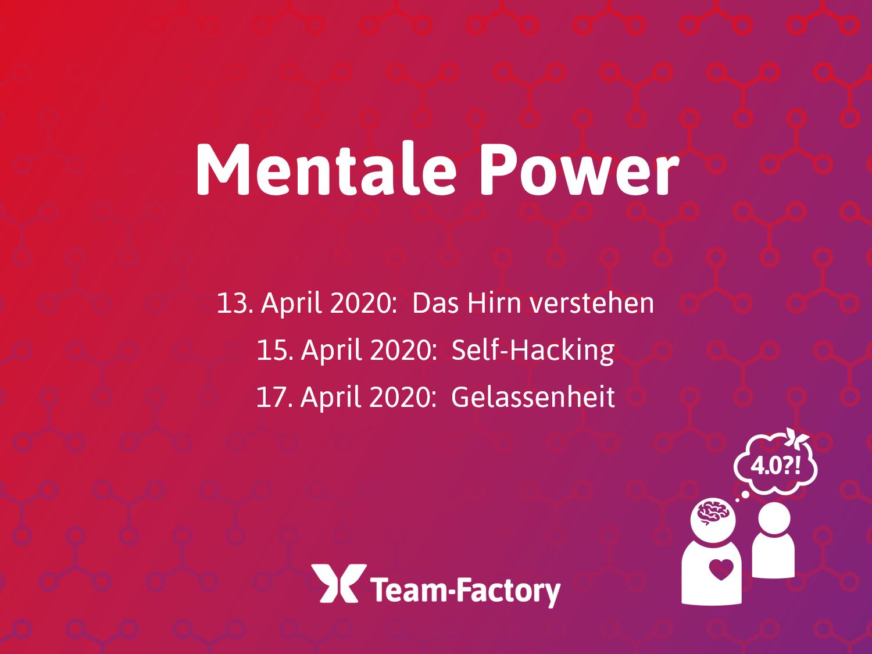 Mentale Power Webinar